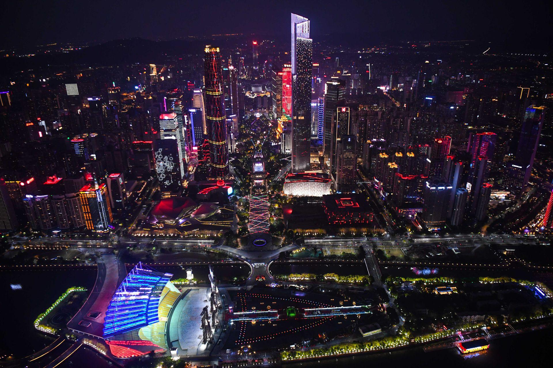 廣東前三季度GDP達8.8萬億元 按年增長9.7%