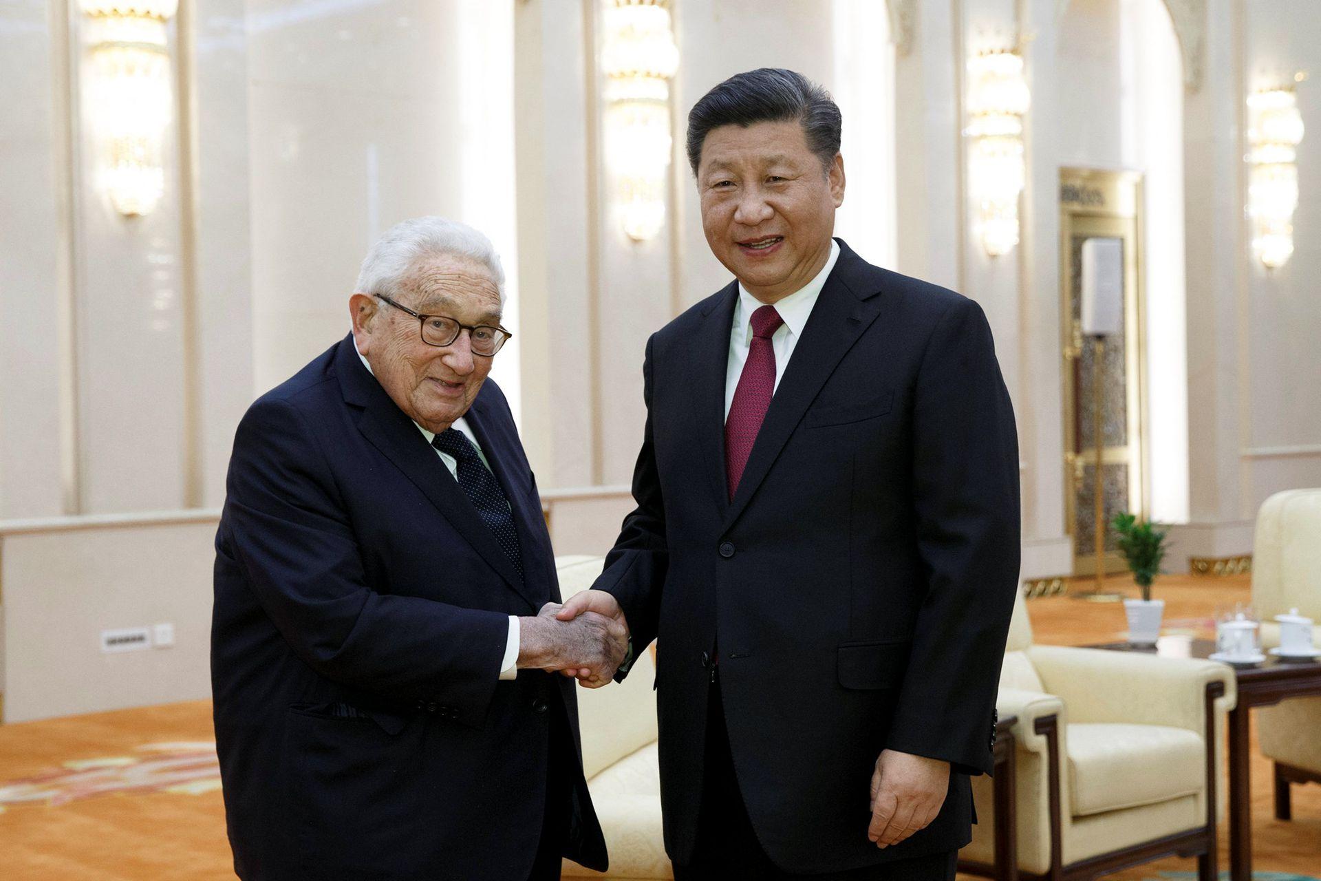 基辛格:任何國家都不可能實現霸權 過去50年中國做出驚人貢獻
