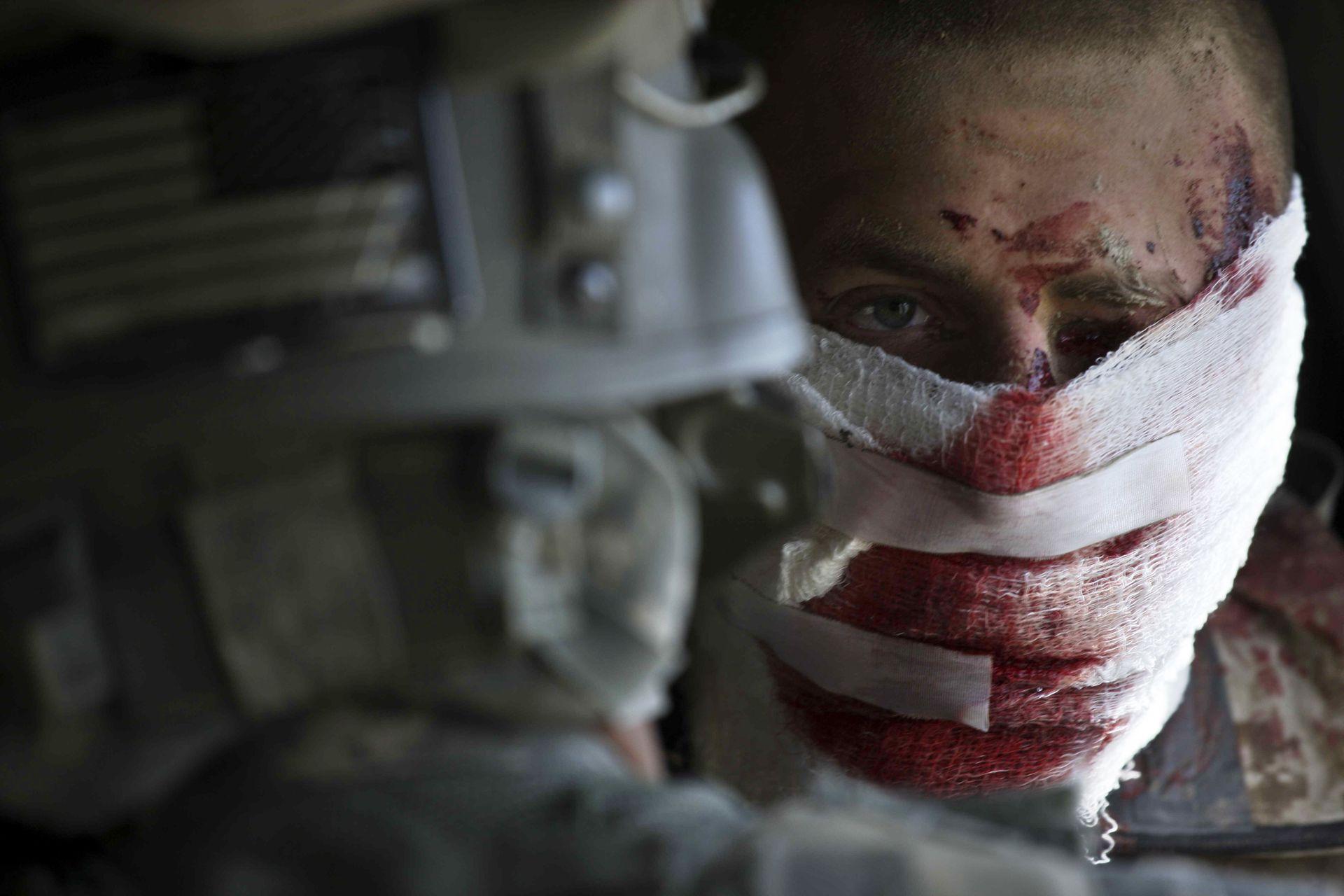 美军长期在阿富汗作战造成重大人员伤亡。(AP)
