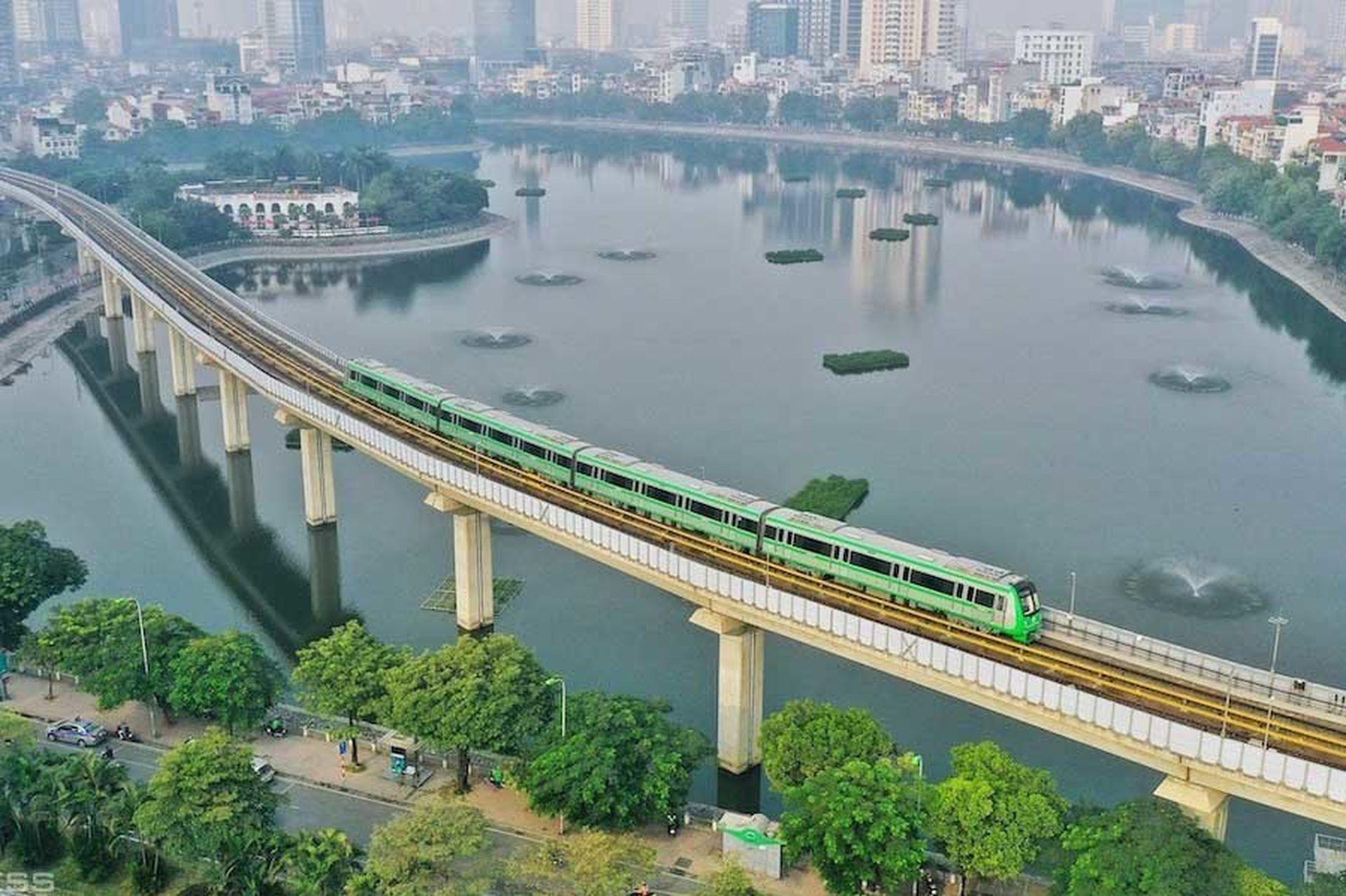 而就2A线的安排来说,这条轻轨线甚至也将成为游览河内的重要一环。(越南电子报截图)