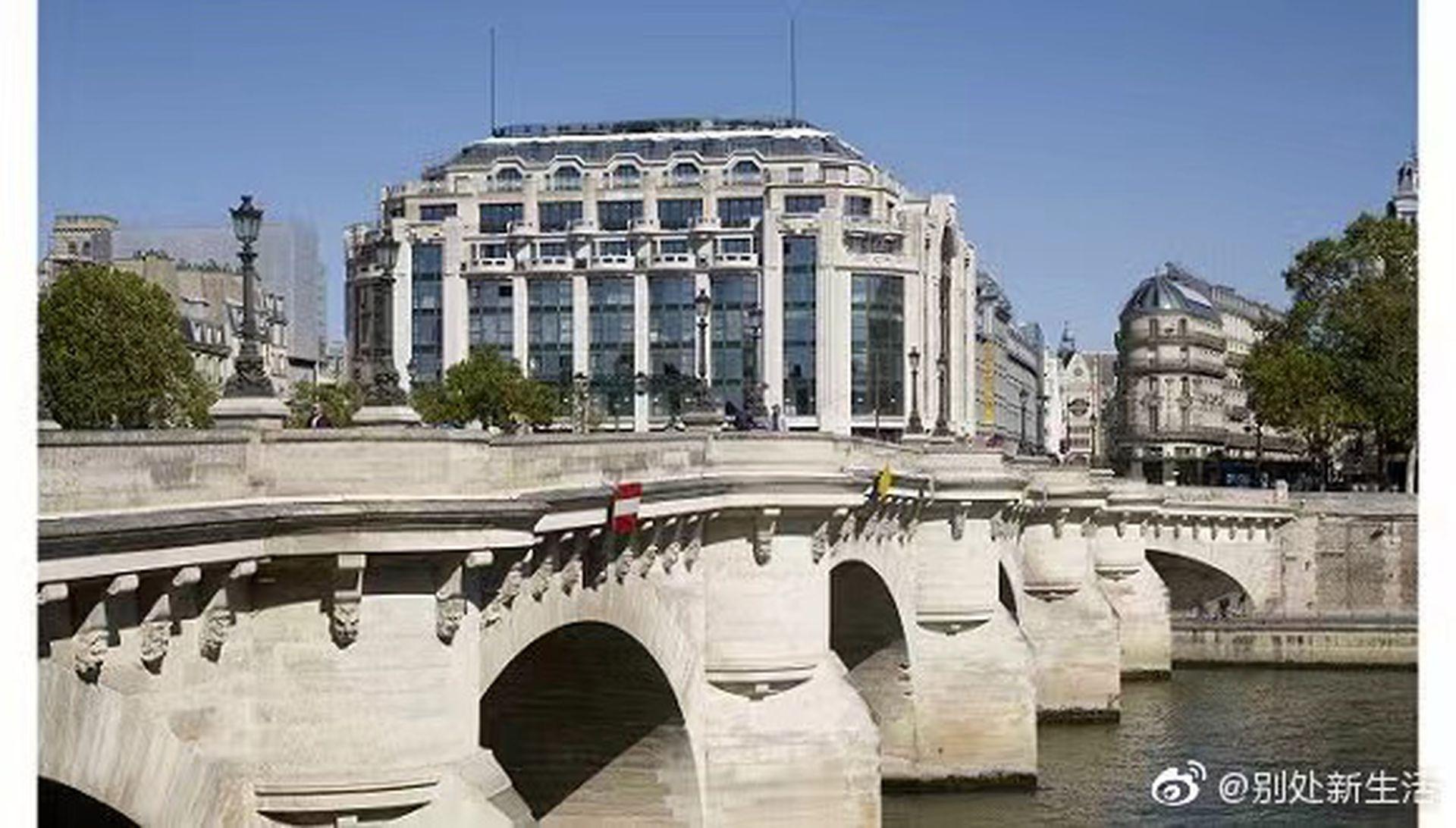 法國著名百貨公司莎瑪麗丹關閉16年後重新營業