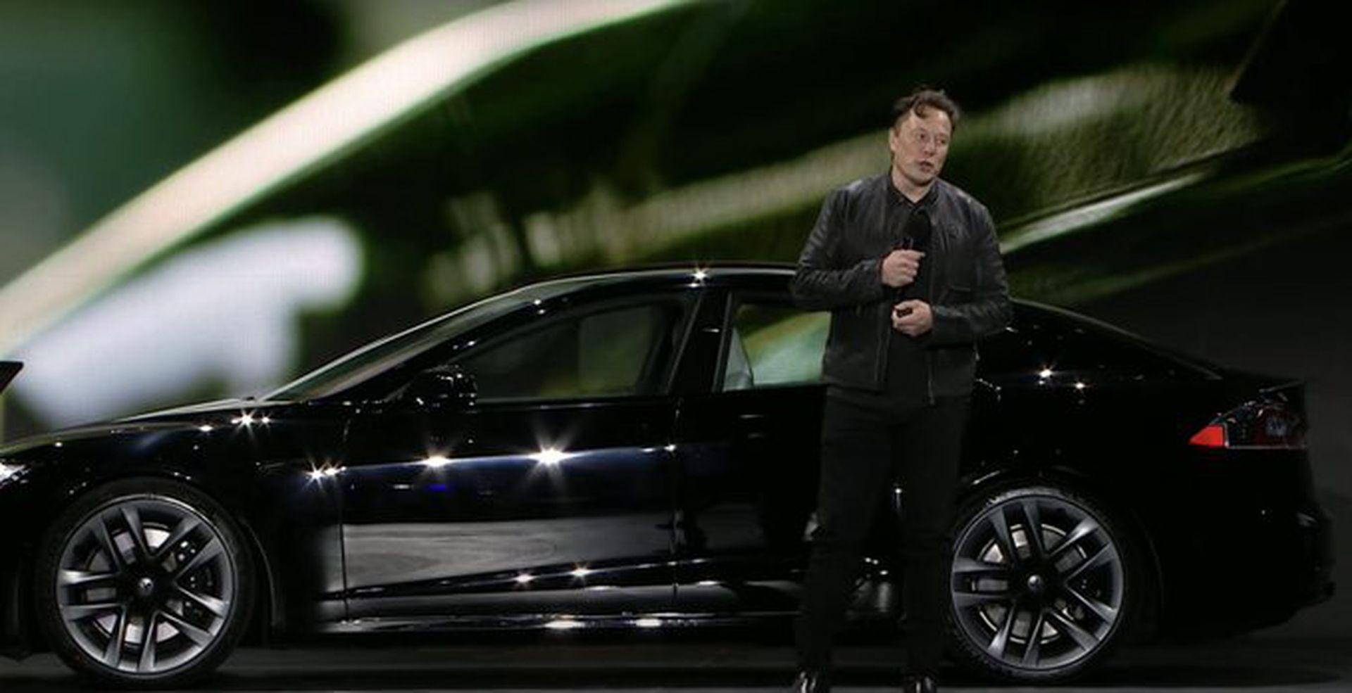 馬斯克發佈Model S Plaid 稱該車是「物理極限工程」